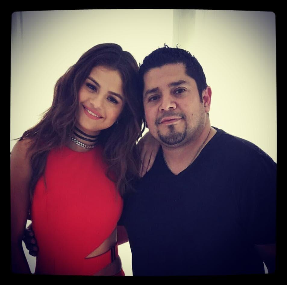 Selena Gomez is close to her father Ricardo Joel Gomez