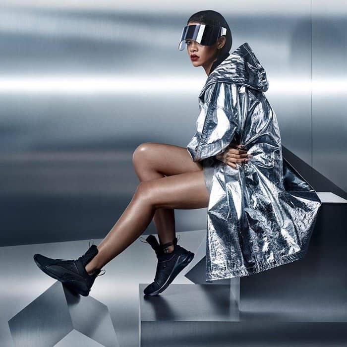 b81d096c6537 Kylie Jenner Wears  Fierce  Kylie Jenner x Puma Sneakers