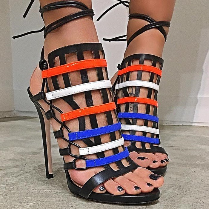 Ruthie Davis Beyond Gladiator Lace-Up Sandal