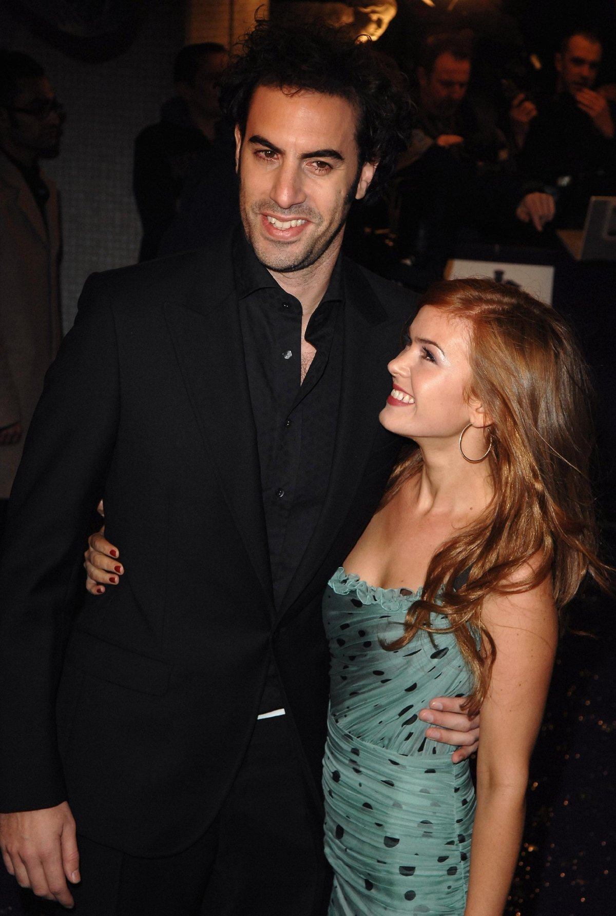 Sacha Baron Cohen knew Isla Fisher was the one after meeting her at a party in Sydney