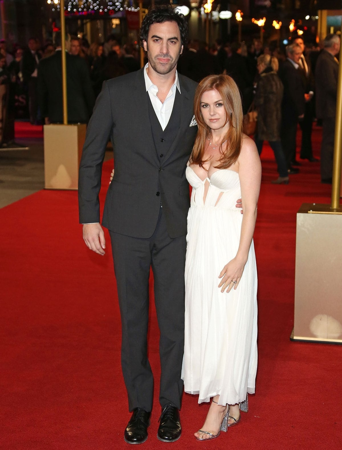 Sacha Baron Cohen and Isla Fisher met in 2001 at a party in Sydney, Australia