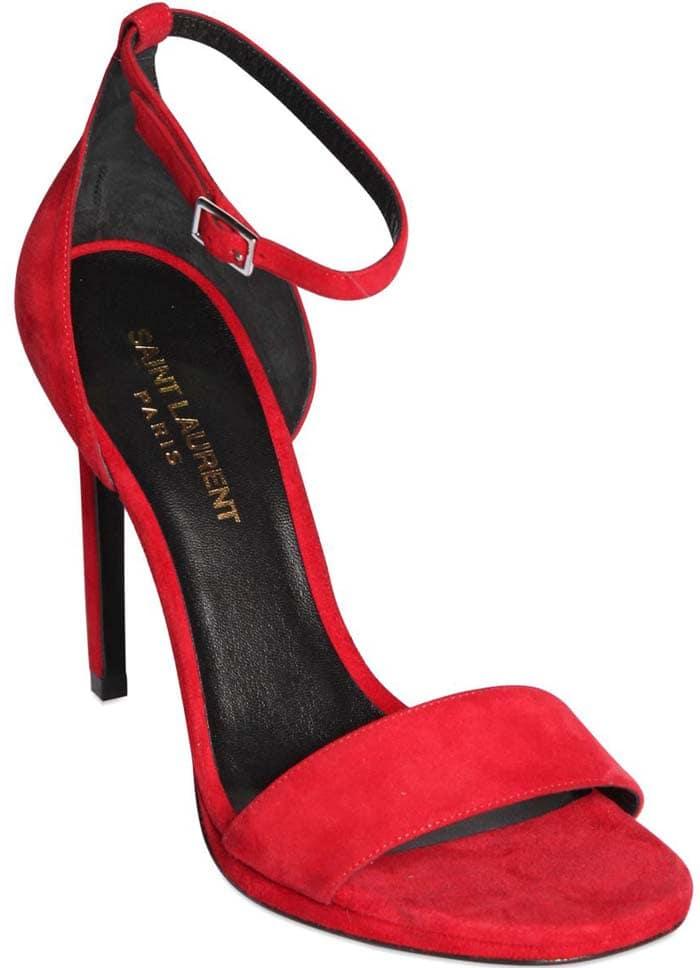 Saint Laurent DOrsay Sandal Red