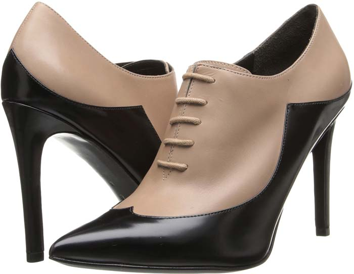 Sigerson Morrison 'Gisa' Boots in Beige/Black