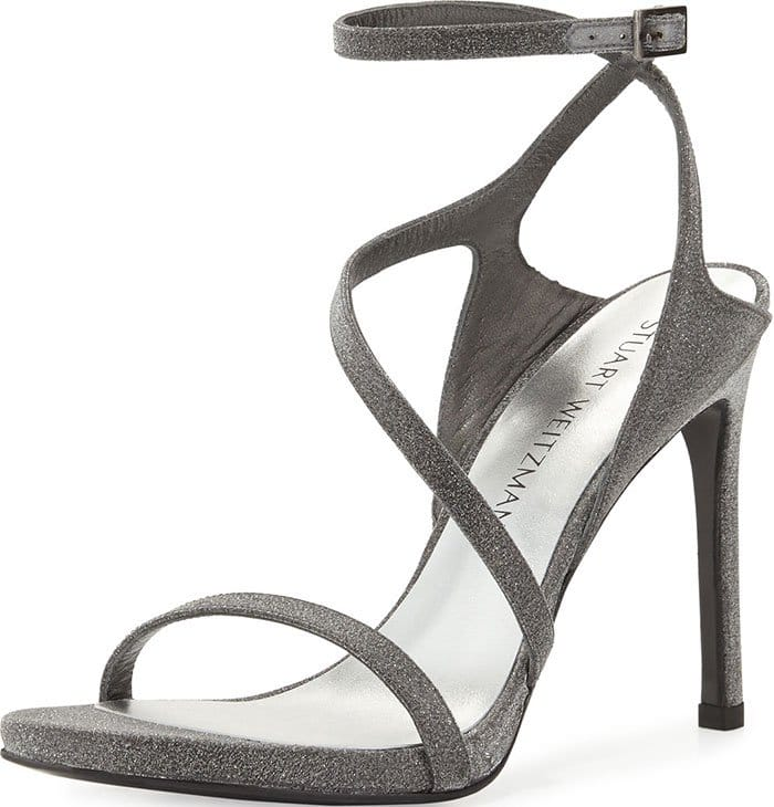 Stuart-Weitzman Asymmetric Evening Sandals