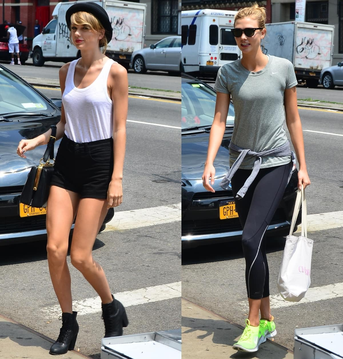 """Before they started fighting, Kloss Kloss listed Taylor Swift as one of her """"closest friends"""""""