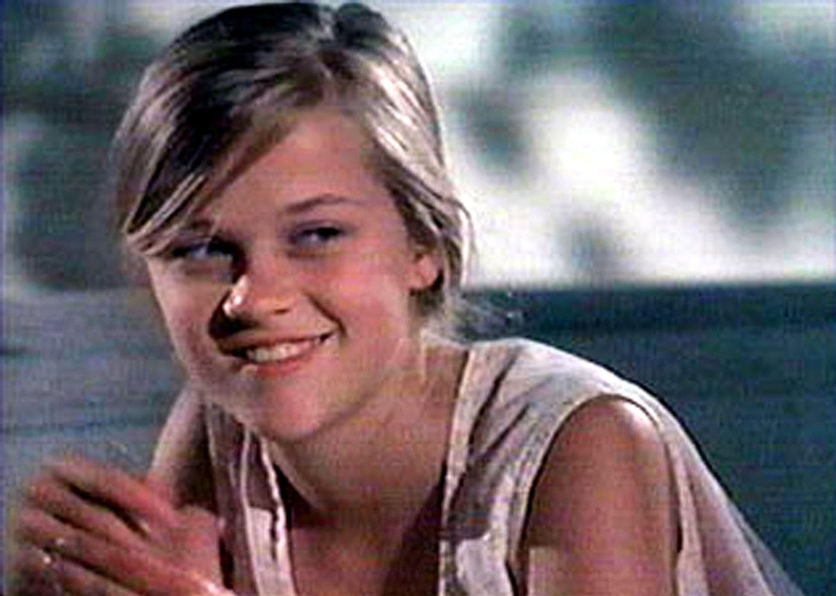 """Reese Witherspoon made her screen debut as Danielle """"Dani"""" Trant in The Man in the Moon"""