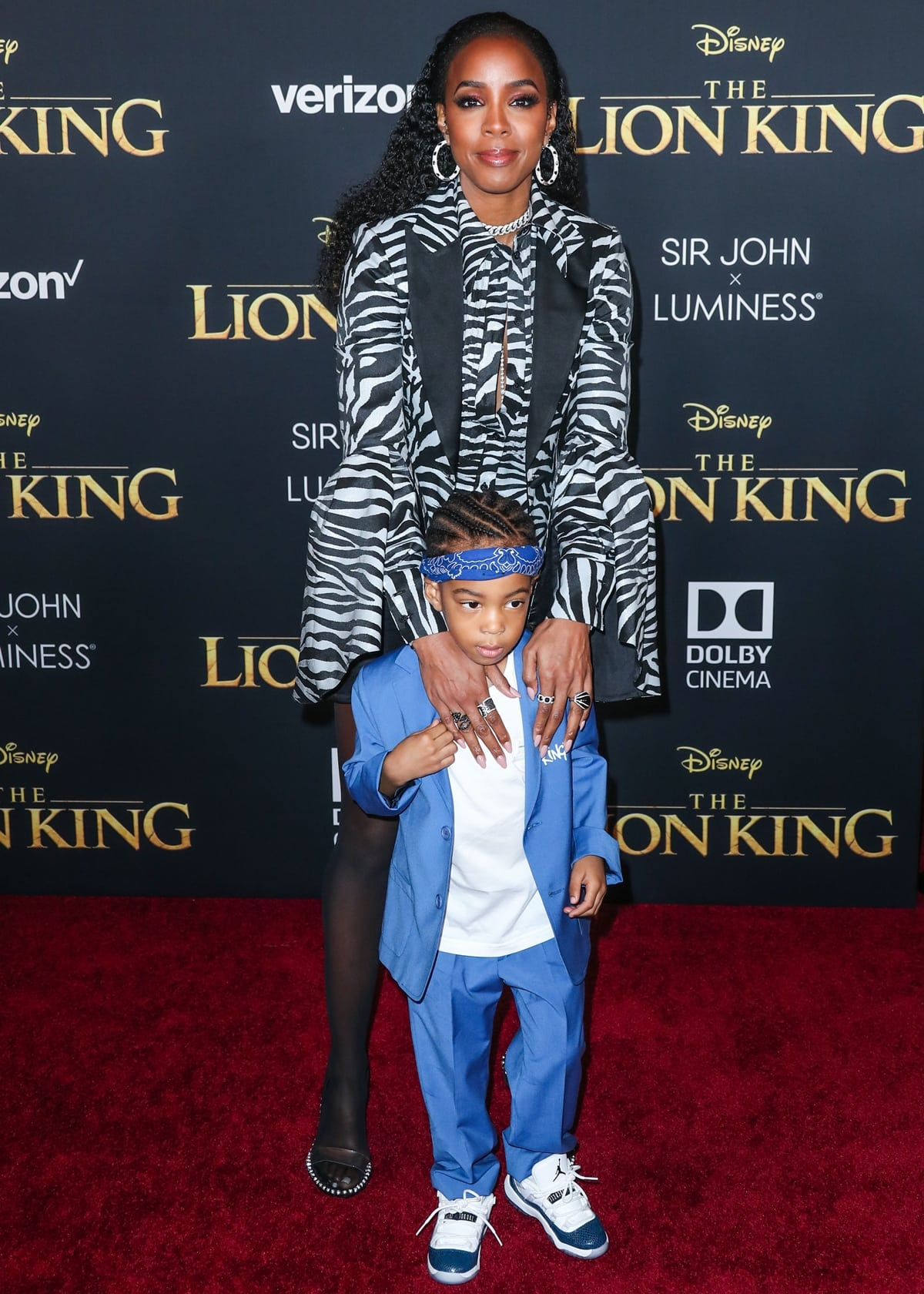 Kelly Rowland's son Titan Jewell Weatherspoon was born on November 4, 2014