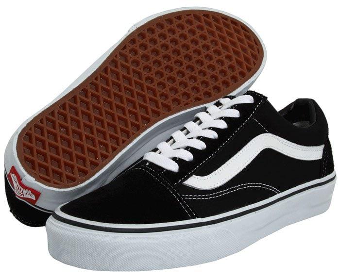 Vans Old Skool Core Classics Sneakers in Black/White
