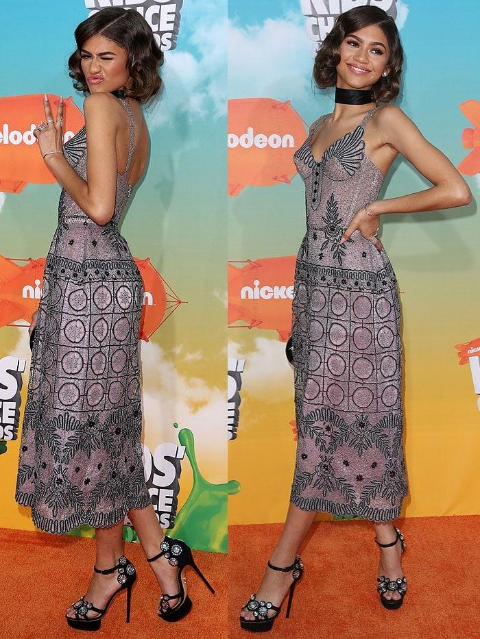Zendaya 2016 Kids Choice Awards 1