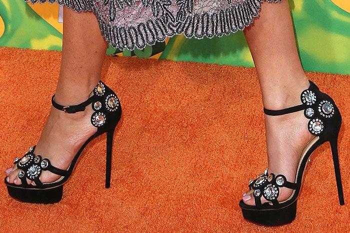 Zendaya Charlotte Olympia Precious sandals 1
