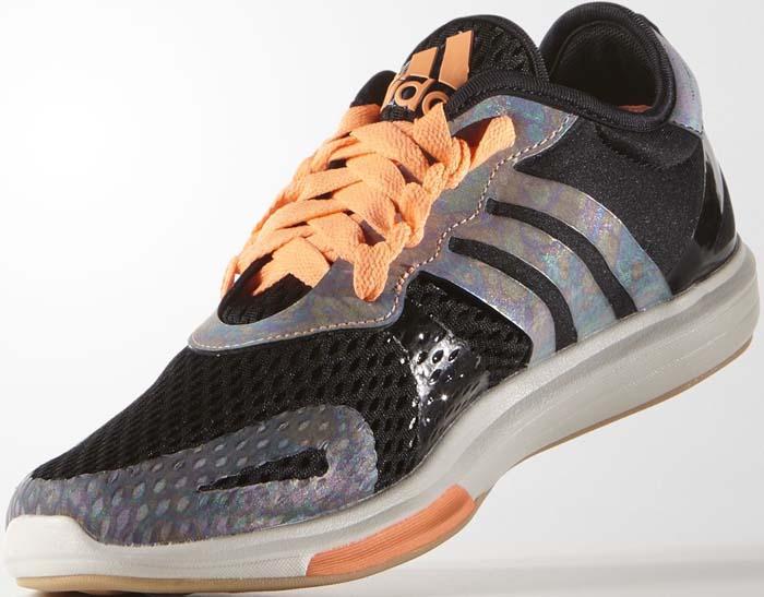 Adidas Yvori Black Orange 2