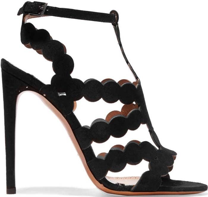 Alaia Laser Cut Sandals