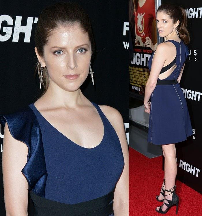 Anna-Kendrick-David-Koma-blue-black-dress