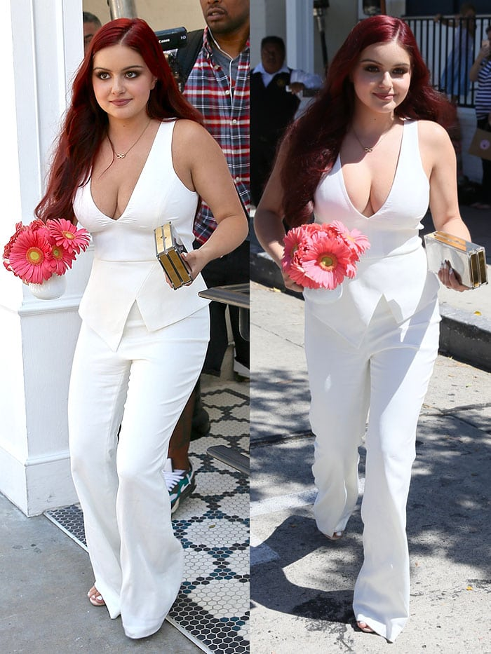 Ariel Winter Glamour Game Changers Lunch 1