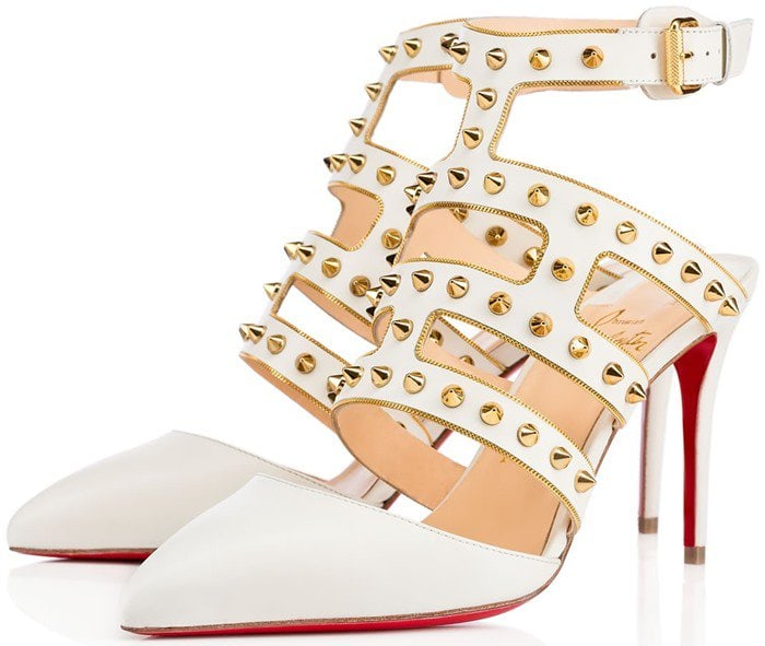 CHRISTIAN LOUBOUTIN Tchicaboum in White