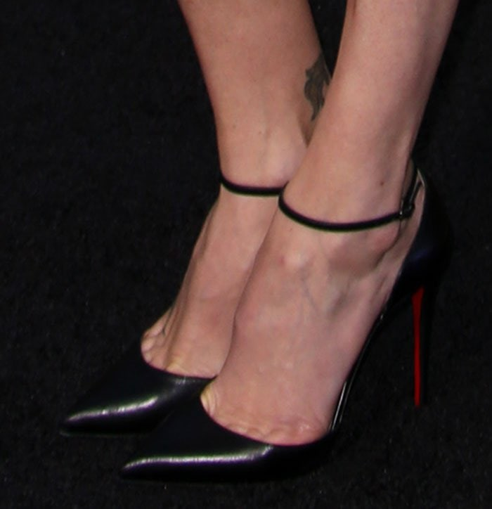 Charlize Theron in Christian Louboutin 'Uptown' pumps
