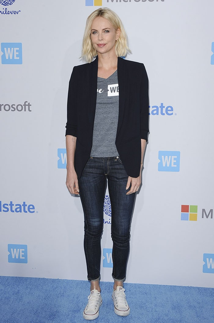 Charlize Theron at We Day California 2016 held at The Forum in Inglewood, California on April 7, 2016