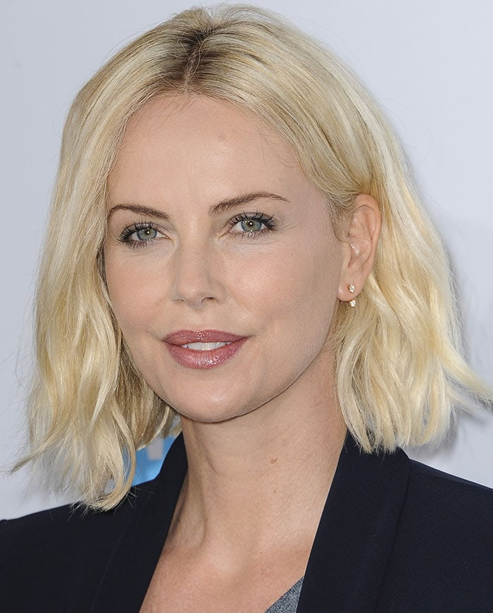 For explanation. charlize theron blonde share your