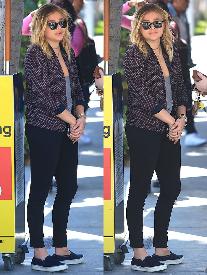 Chloe Moretz ll Pastaio Beverly Hills 1