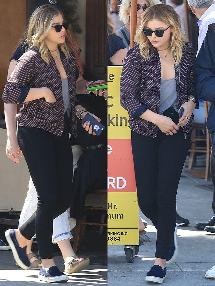 Chloe Moretz ll Pastaio Beverly Hills