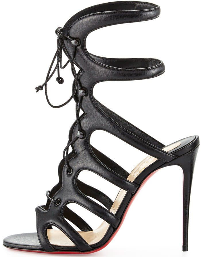 hot sale online ca9fc af43e Breathtaking 'Amazoulo' Gladiator Sandals by Christian Louboutin