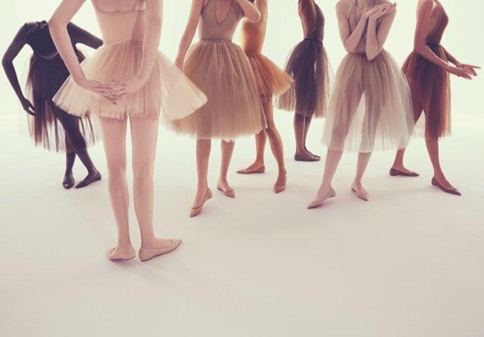 4705141a51e Christian Louboutin Introduces  Solasofia  Nude Ballet Flat