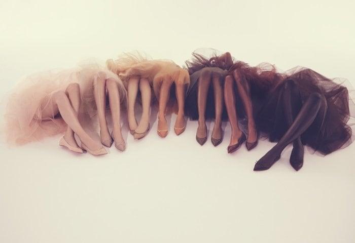 Christian Louboutin Nude Flats3