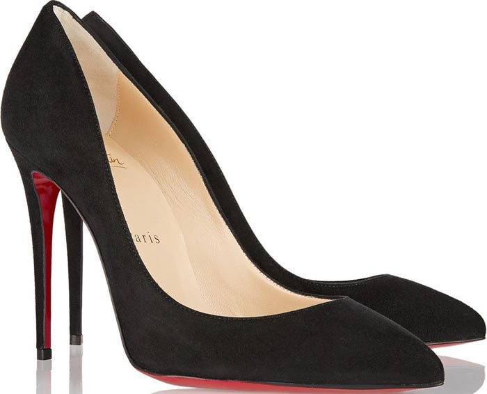 Christian Louboutin Pigalle Follies Pumps Black Suede