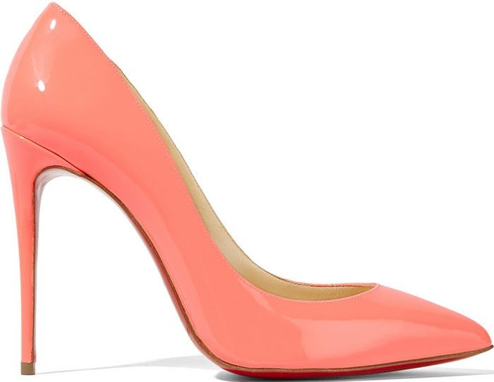 Christian Louboutin Pigalle Follies Pumps Coral