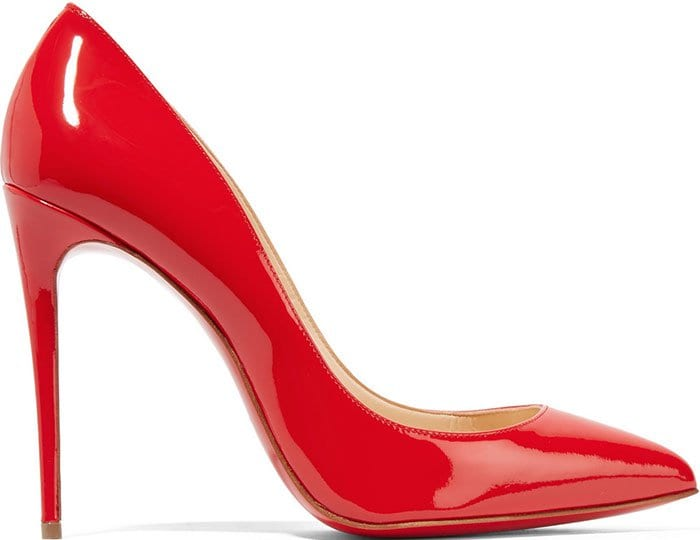 Christian Louboutin Pigalle Follies Pumps Red Patent