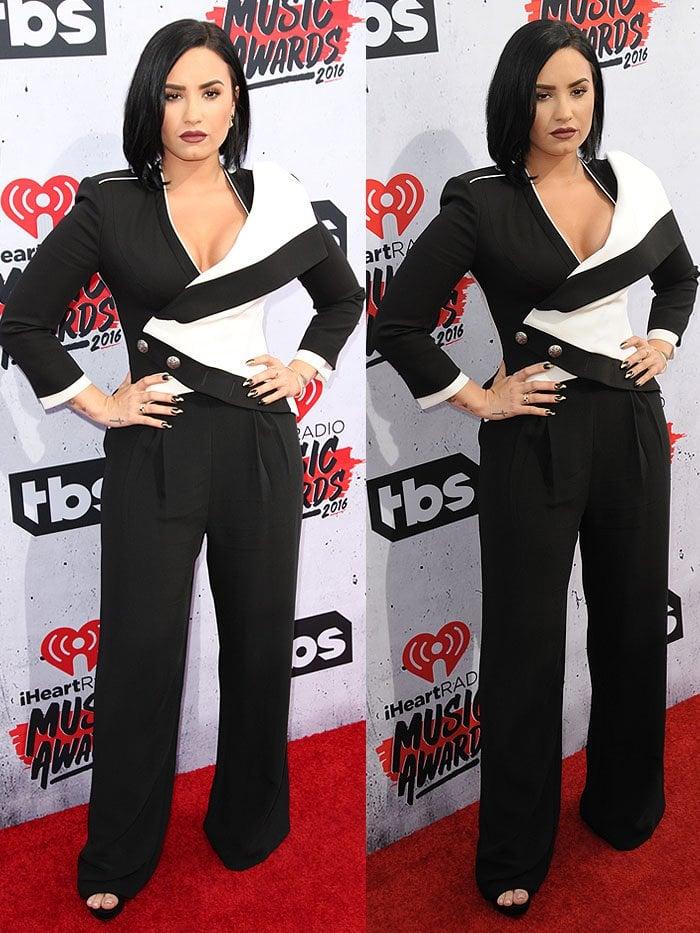 Demi Lovato iHeartRadio Music Awards 2016