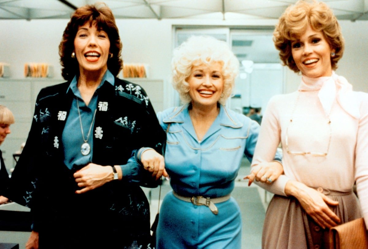 Lily Tomlin, Dolly Parton, and Jane Fonda starred in the 1980 American comedy film 9 to 5