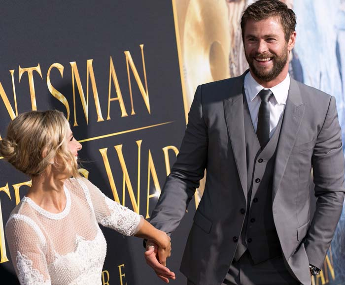 Elsa Pataky shows off her enviable relationship with her husband on the red carpet