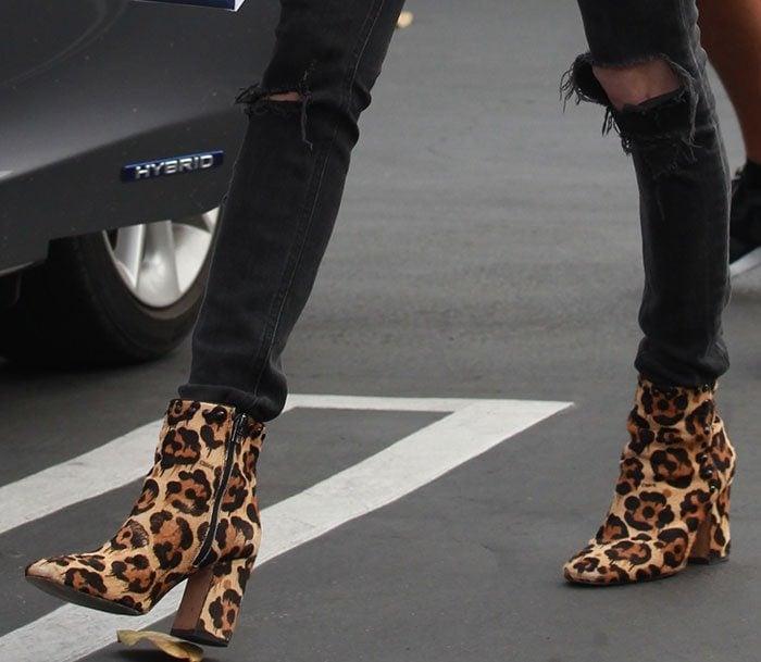 Emma-Roberts-Coach-Felicia-Leopard-Boots