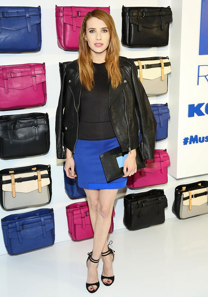 Emma-Roberts-REED-Kohl's-Collection-Launch-dinner