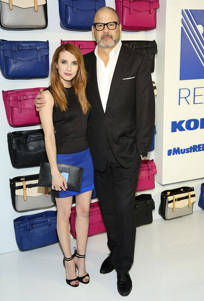 Emma-Roberts-Reed-Krakoff-REED-x-Kohl's-Collection-Launch-dinner