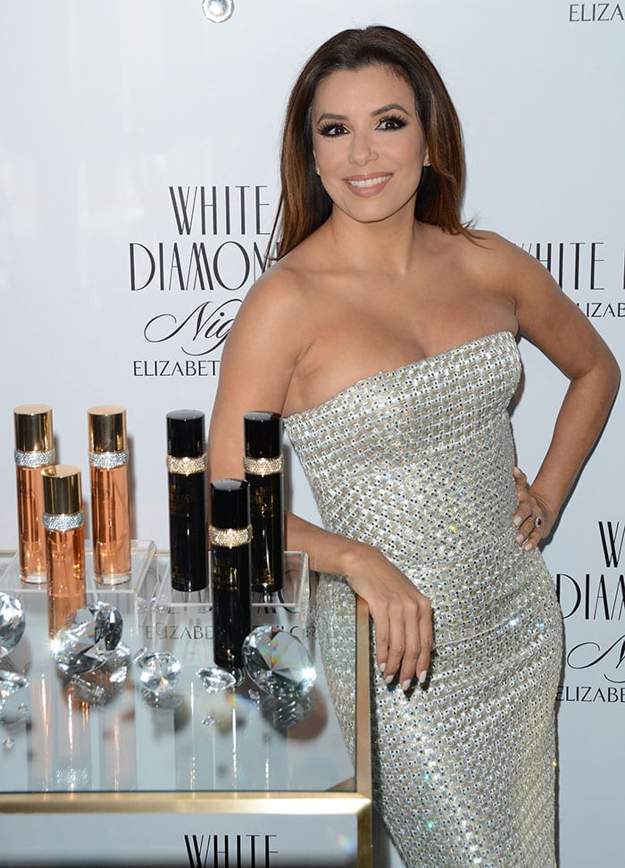 Eva-Longoria-Elizabeth-Taylor-White-Diamonds-25th-Anniversary-Celebration