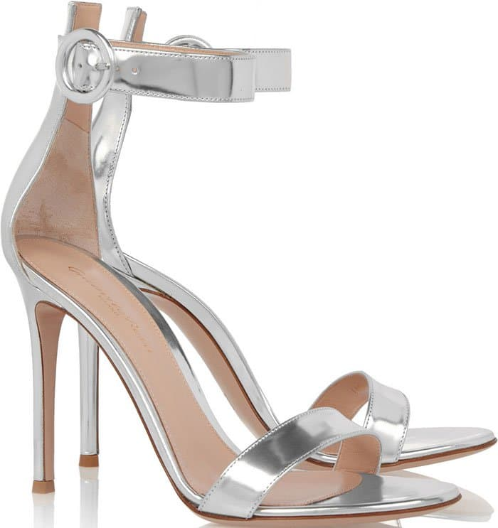 Gianvito-Rossi-Portofino-Metallic-Silver-Sandals