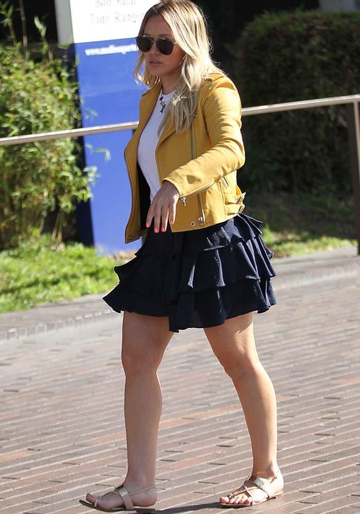 Hilary Duff Luca Shopping Giuseppe Zanotti 2