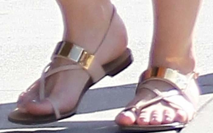 Hilary Duff Luca Shopping Giuseppe Zanotti 3