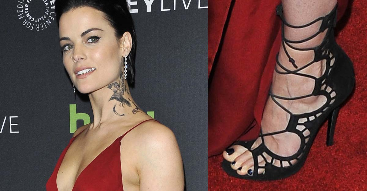 204b864d5a80a Jaimie Alexander' Massive Tattoos for Blindspot at PaleyLive New York
