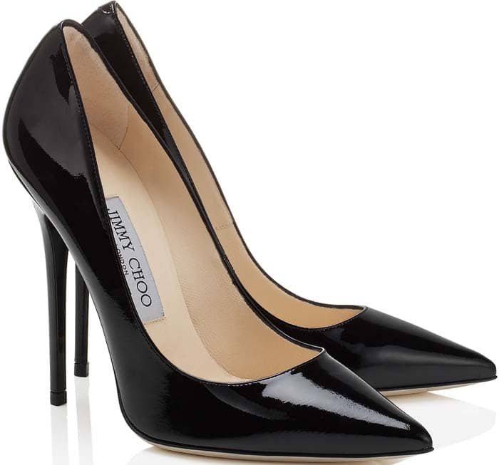 Jimmy Choo Anouk Black Patent