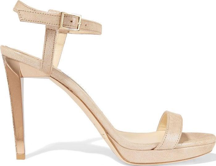 Jimmy-Choo-Claudette-metallic-suede-platform-sandals