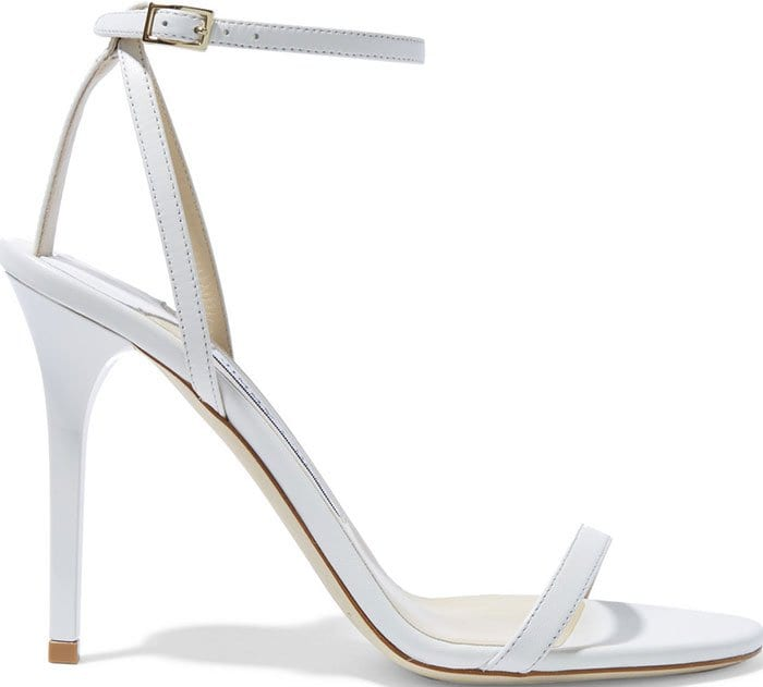 Jimmy-Choo-Minny-white-leather-sandals