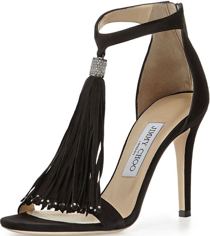 """Jimmy Choo """"Viola"""" Tassel Sandals"""