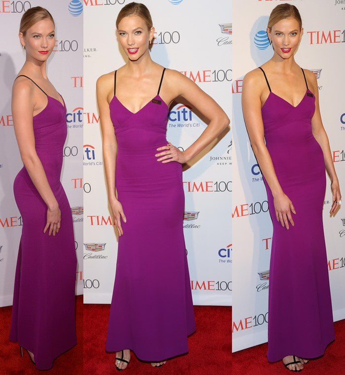 Karlie Kloss at the 2016 Time 100 Gala at the Time Warner Center in New York City on April 26, 2016