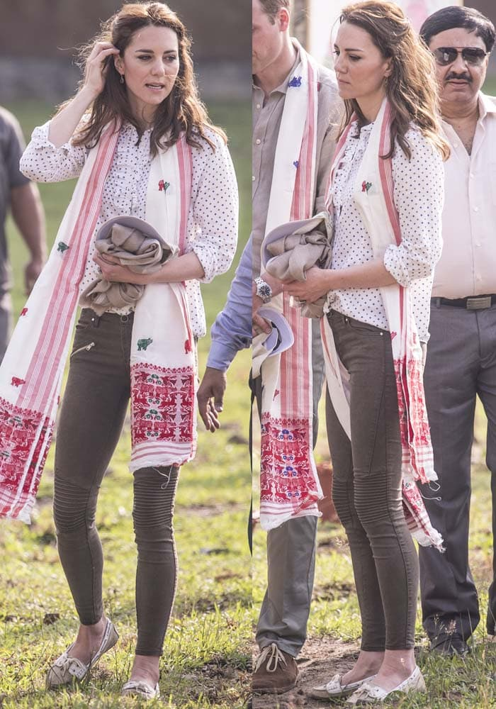Kate Middleton India Park Ranger Sebago 2