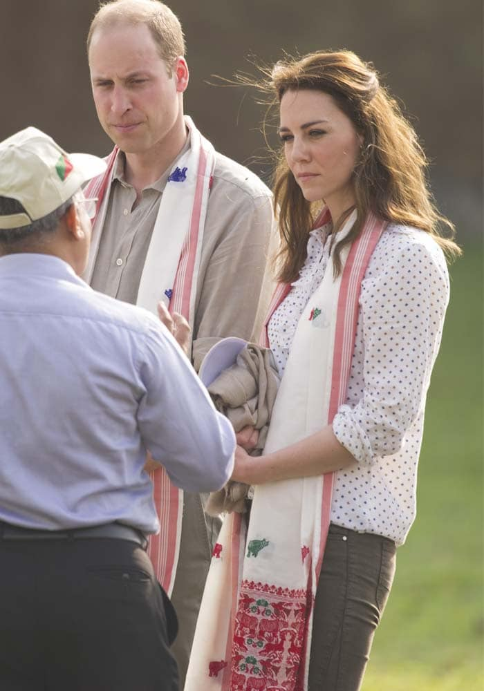 Kate Middleton India Park Ranger Sebago 4