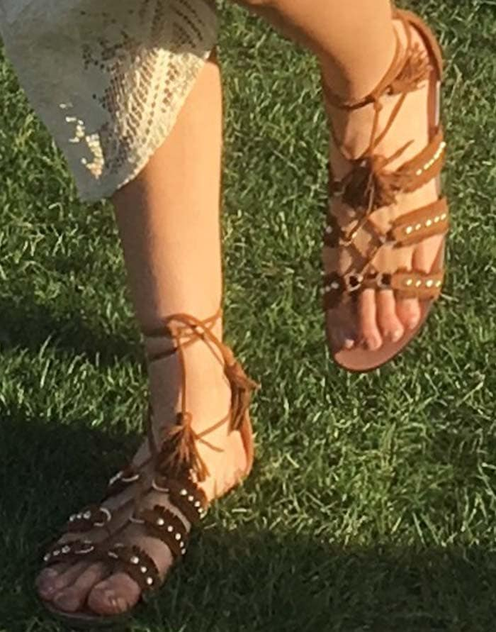Kendall Jenner Coachella Day One Aquazzura 3