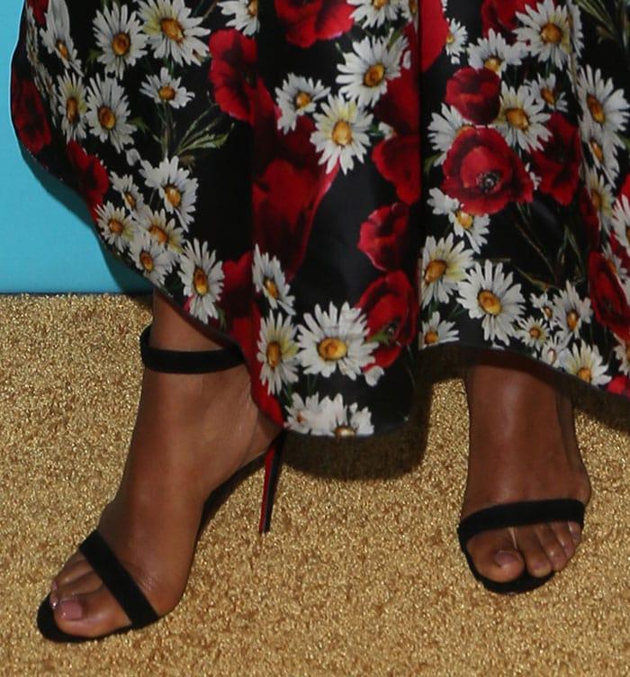 Kerry-Washington-Christian-Louboutin-PVC-strap-sandals